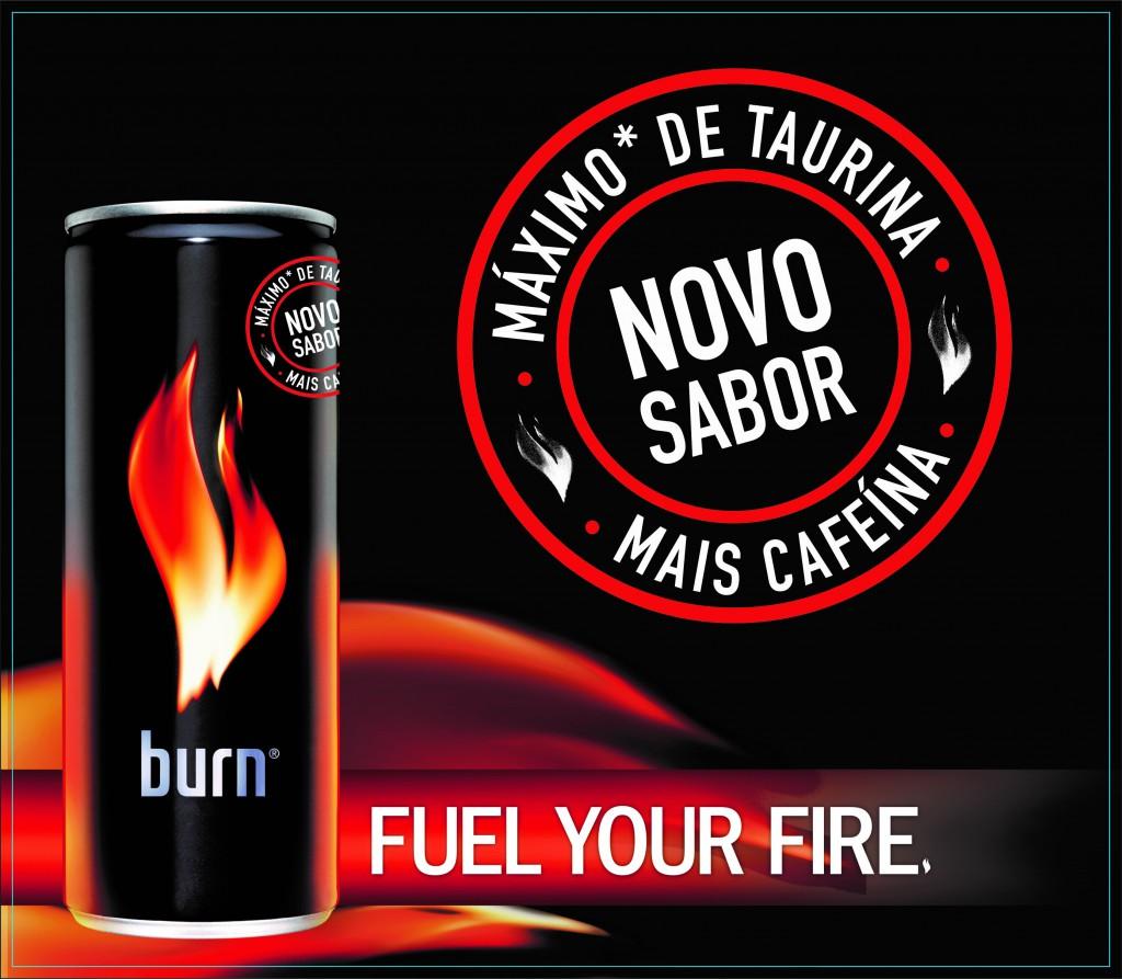 Coca-Cola Brasil relanca Burn com nova formula