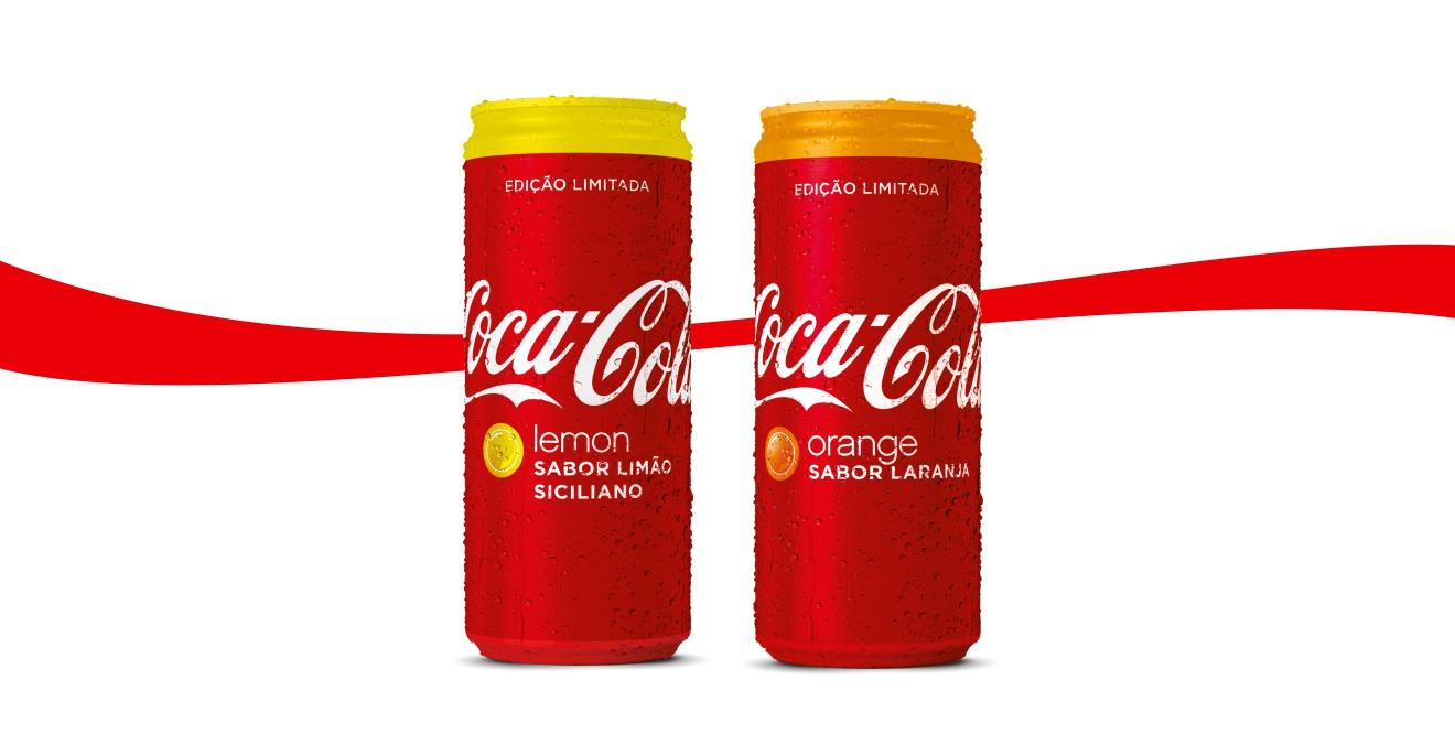 Novos Sabores limitados de Coca-Cola