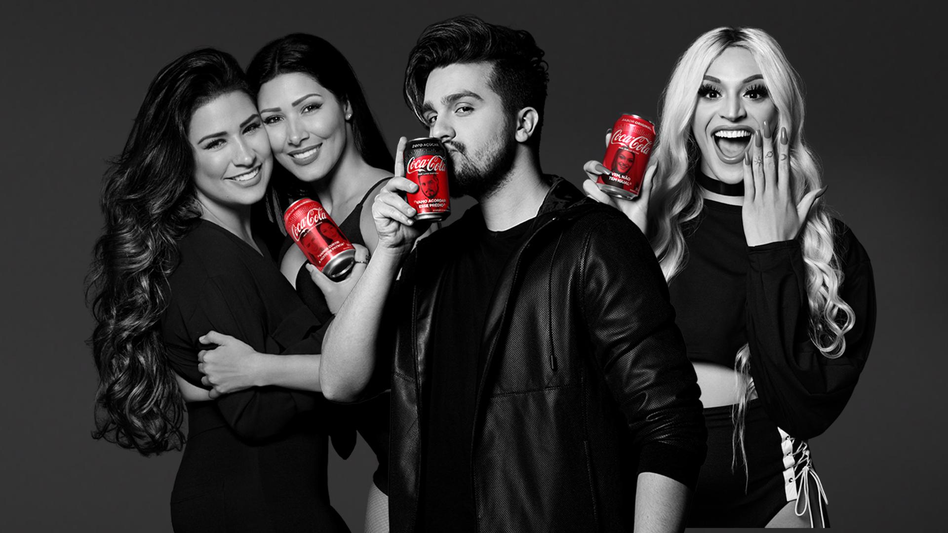 Vencedores FanFeat Coca Cola_ Simone e Simaria_Luan Santana e Pabllo Vittar